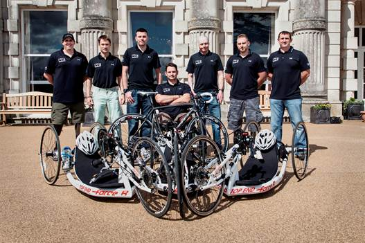 Help for Heroes wounded servicemen race across America