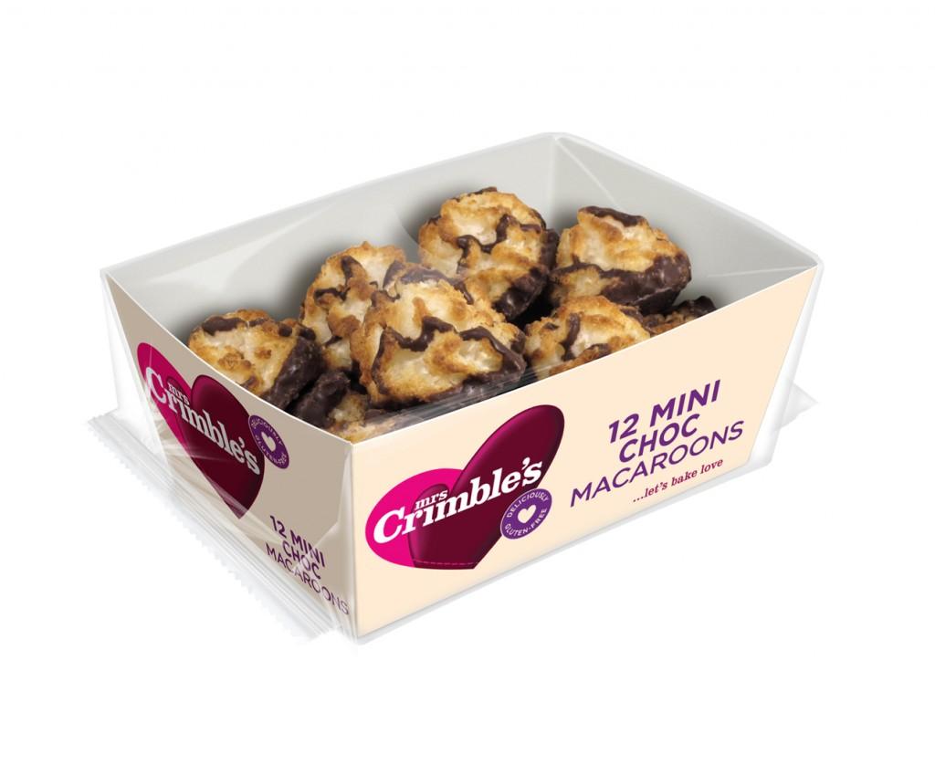 12 Mini Choc Macaroons, £1.89 – Mrs Crimble's (1)