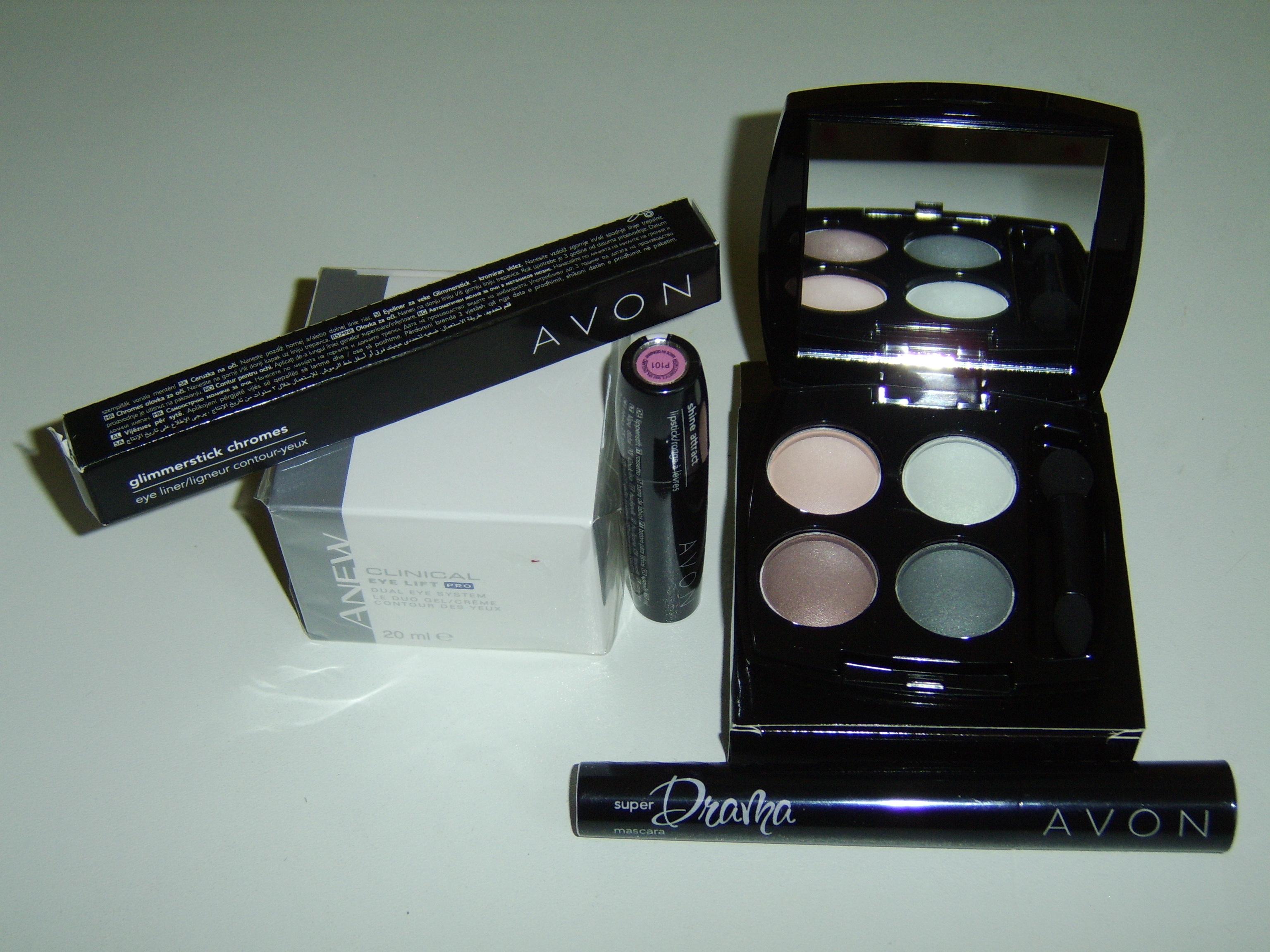 avon makeup set