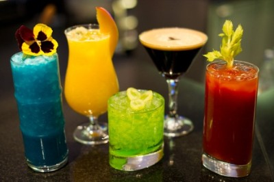 Olympic cocktails and mocktails