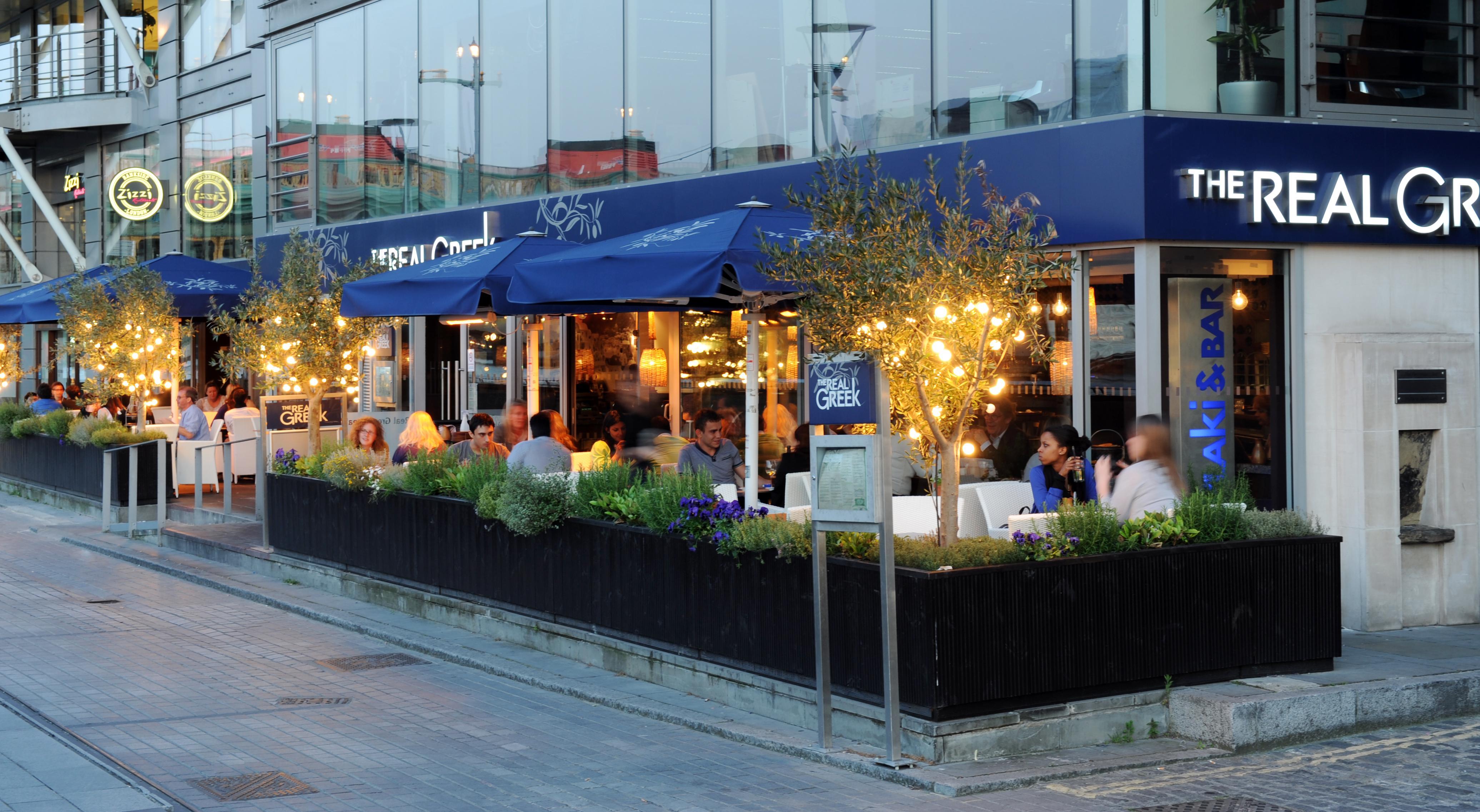 The Real Greek exterior - Bankside