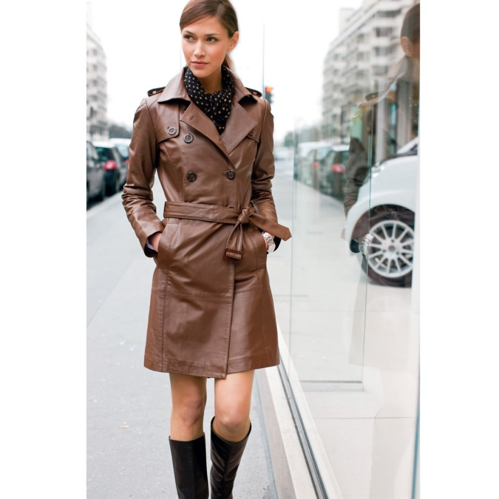 LeatherTrench