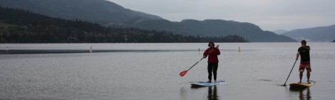 Stand Up Paddle Boarding in Canada
