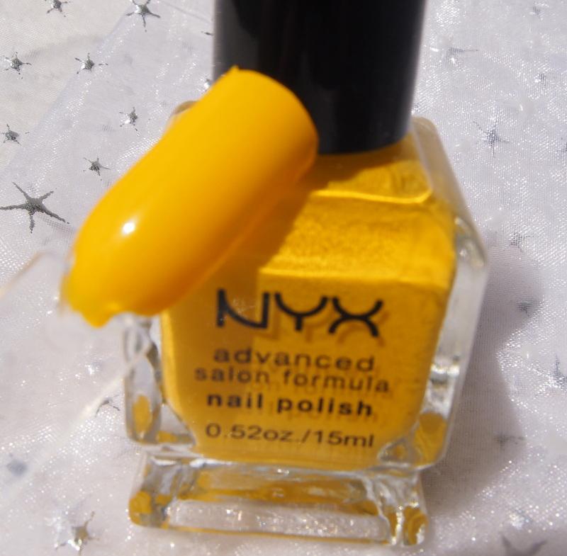 Nyx Banana Nail Polish