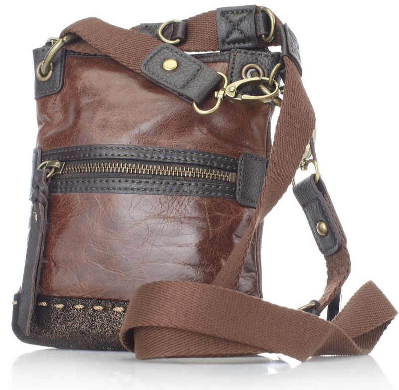 103948 The Sak Pax Mini Leather Cross Body Bag  £29.00