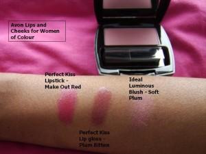 Avon WOC Lips n blush