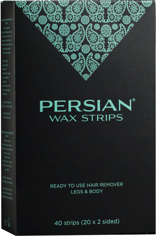 Persian Cold wax strips box