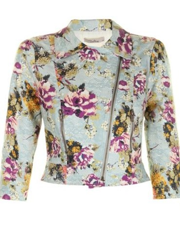 Pretty floral jacket