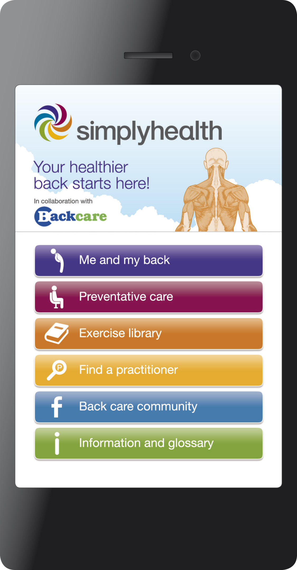 Simplyhealth-Back Care app (2)