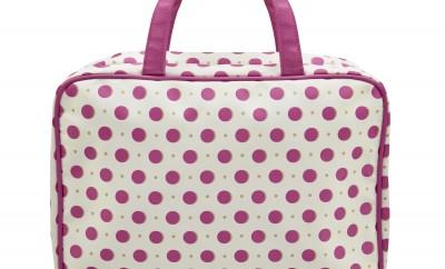 Laura Ashley Darcey Spot Large Wash Bag RRP £30