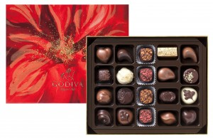 Godiva 20 piece box