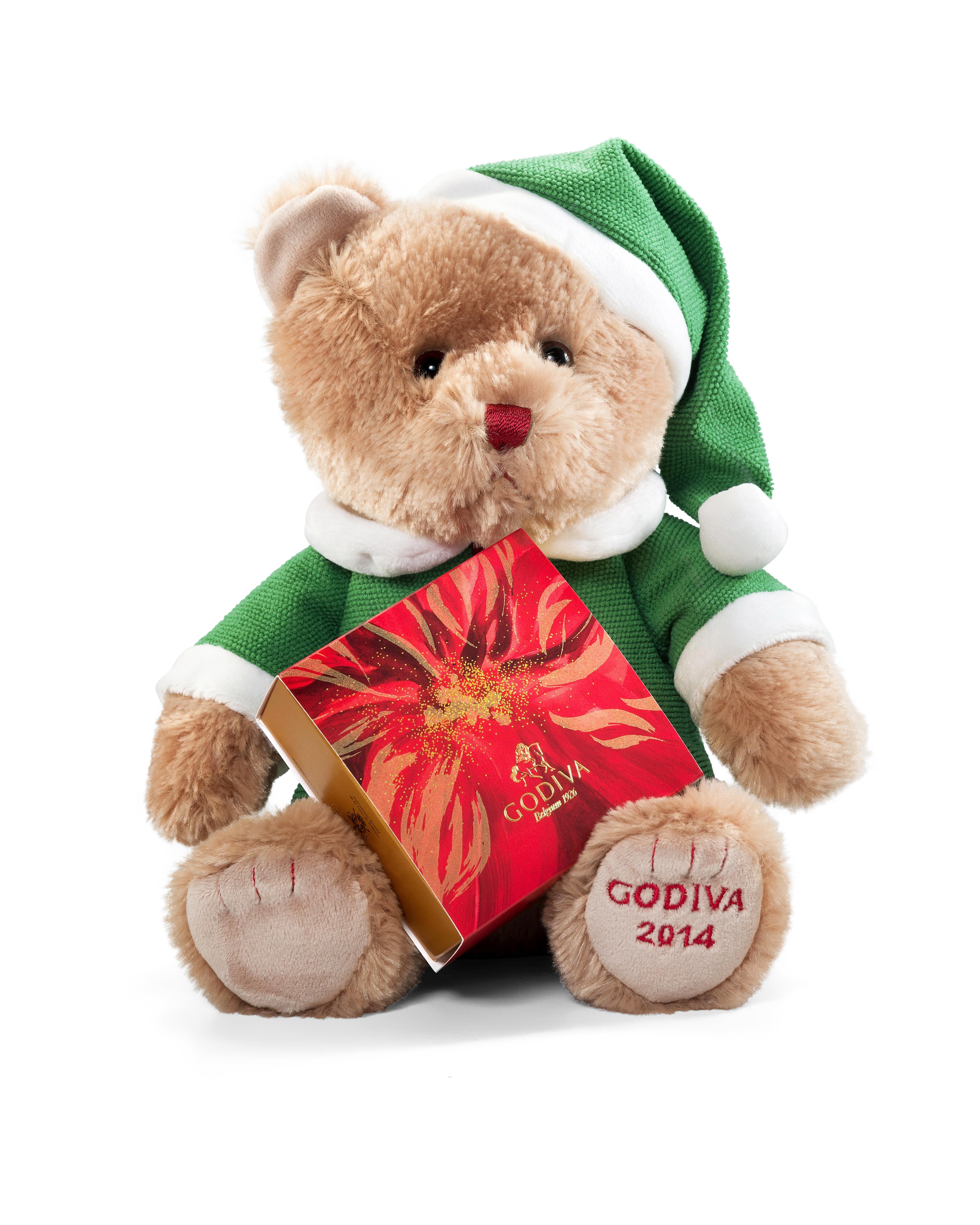 godiva bear