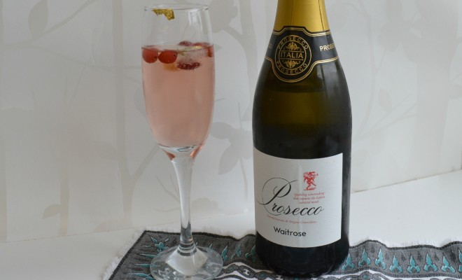 Waitrose cellar cocktails prosecco style for Drinks with prosecco and vodka