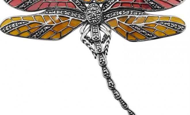 0055879_925-sterling-silver-marcasite-citrine-enamel-dragonfly-brooch