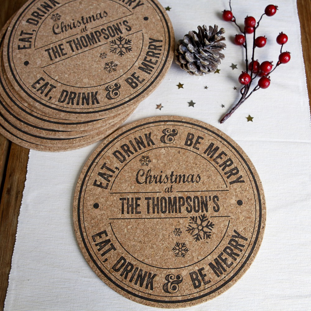 personalised-christmas-cork-placemats