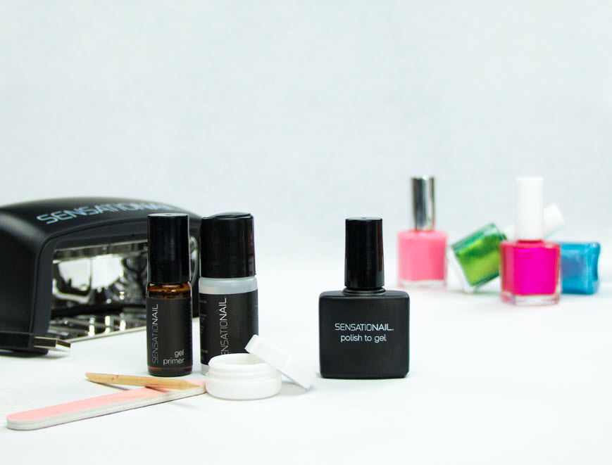 SensatioNail Polish To Gel Kit