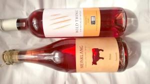 Wild Thing Organic Rose & Meinklang Organic Pinot Noir