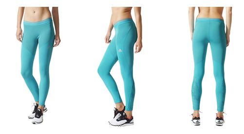 Pictured Adidas Techfit Chill Running Tights RRP £35.99