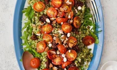 Italian Farro and Tomatoes