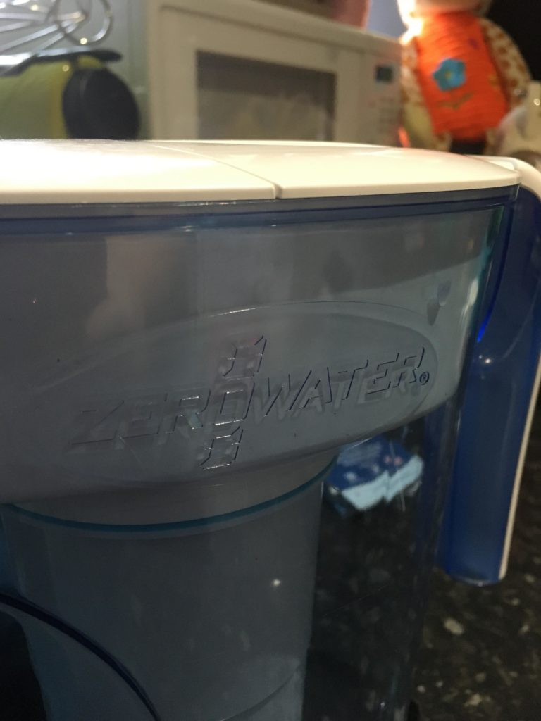 zero water, water filter jug, using less plastic